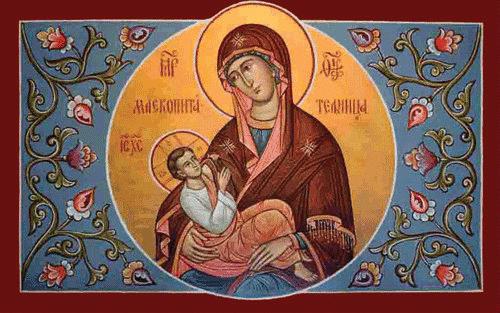 聖母將一切事默存心中